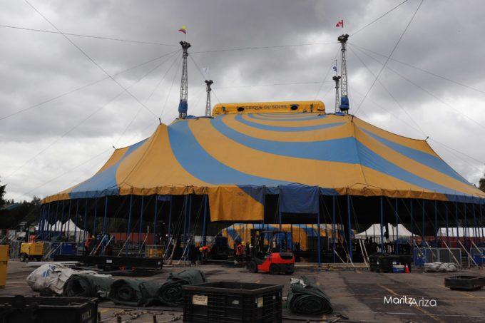 la carpa del cirque du soleil esta lista para presentar amaluna cirque du soleil