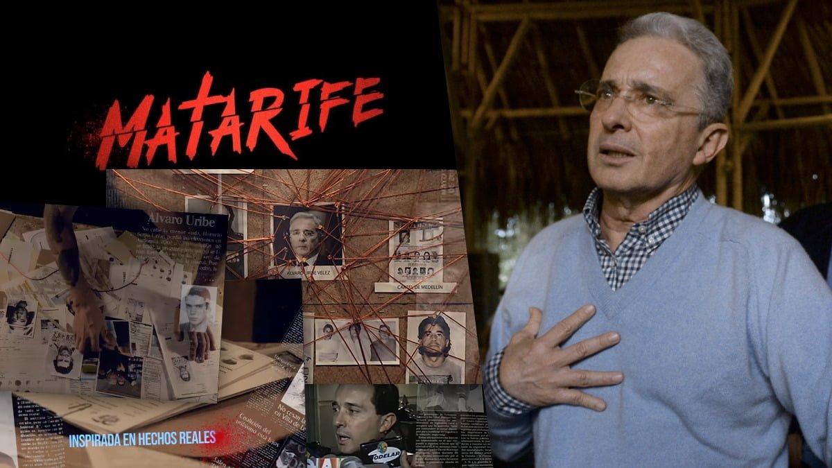 Matarife», la serie sobre las investigaciones a Alvaro Uribe Vélez ...