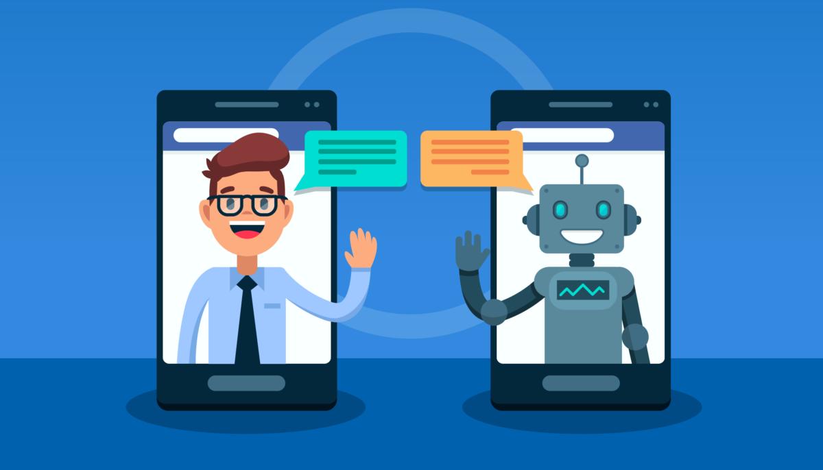 chatbot y humano