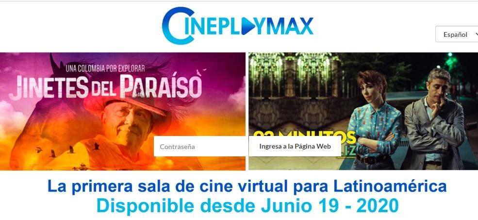 cineplaymax primera sala de cine virtual cineplay