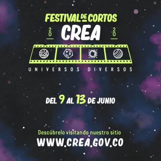 comienza el festival de cortos crea 2020 festival crea 2020