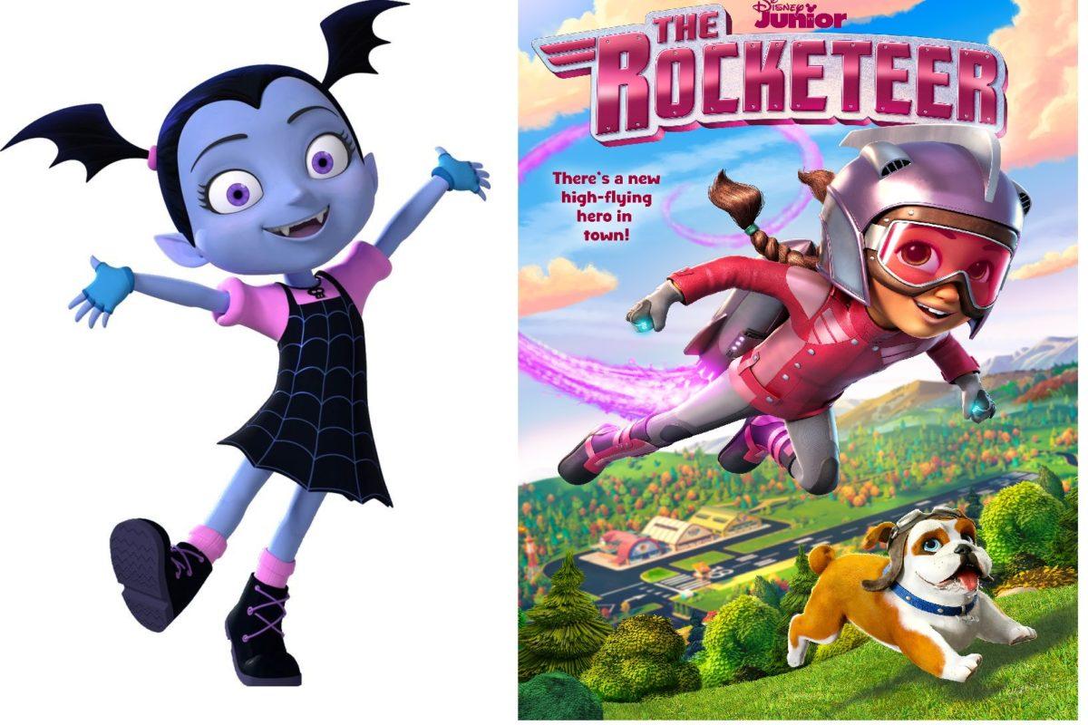 nuevos episodios vampirina y rocketeer por disney junior vampirina y rocketeer disney junior