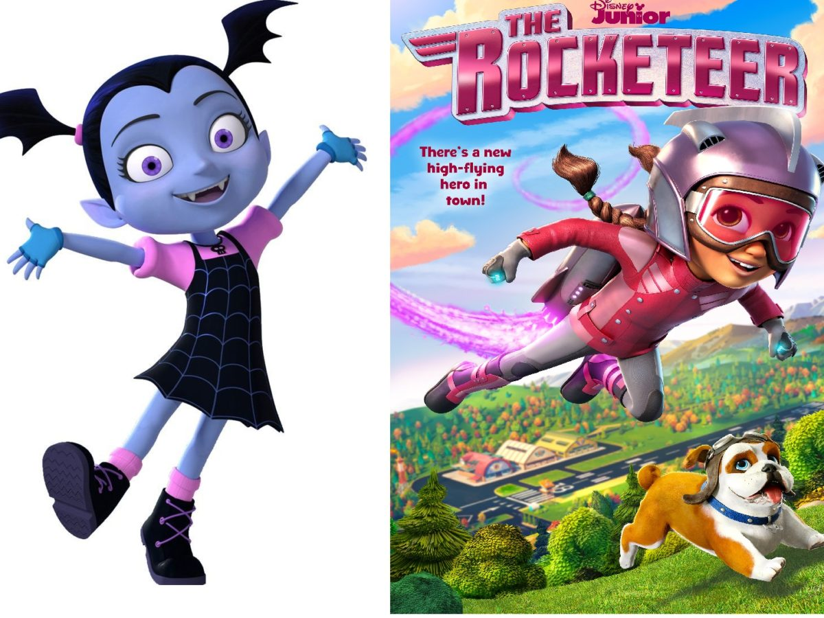 nuevos episodios vampirina y rocketeer por disney junior vampirina y rocketeer disney junior