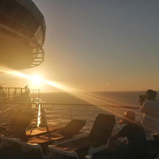 una noche en el crucero crucero