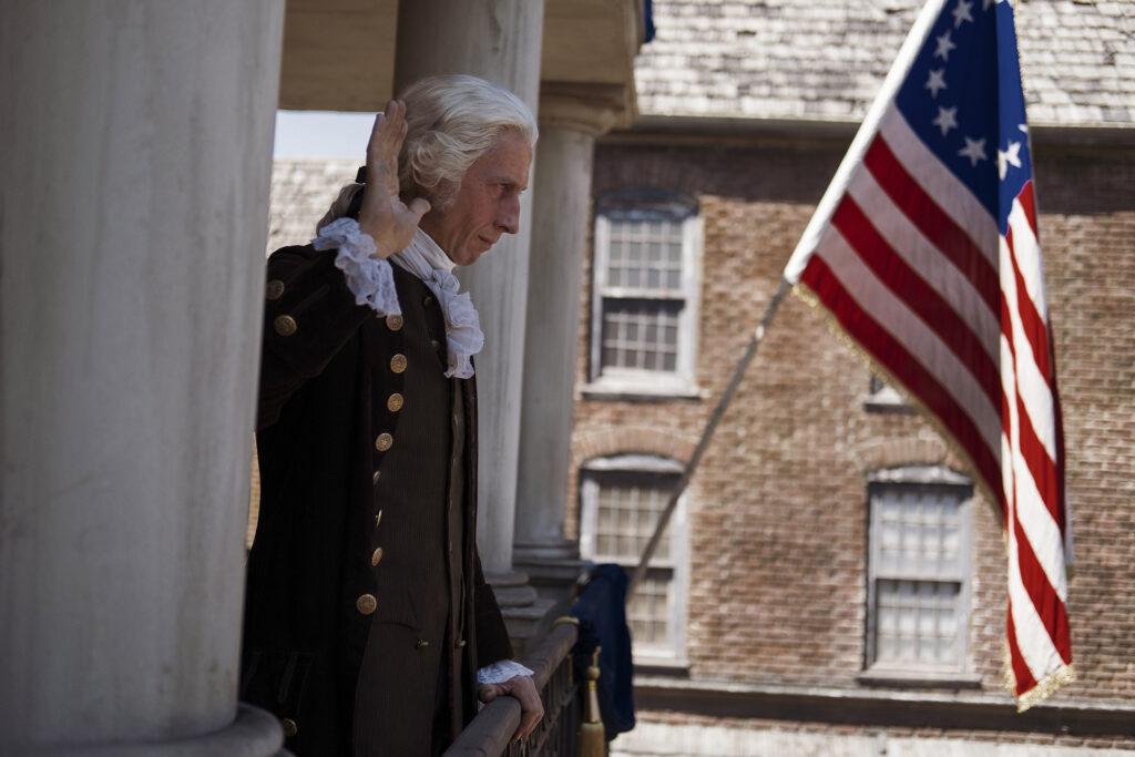 la mini serie washington una advertencia del maximo heroe de la independencia de estados unidos history washington 17