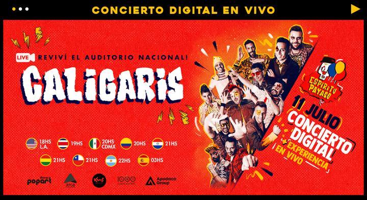 los caligaris conectaran al mundo con su primer concierto digital horizontalbase caligaris salaestelar