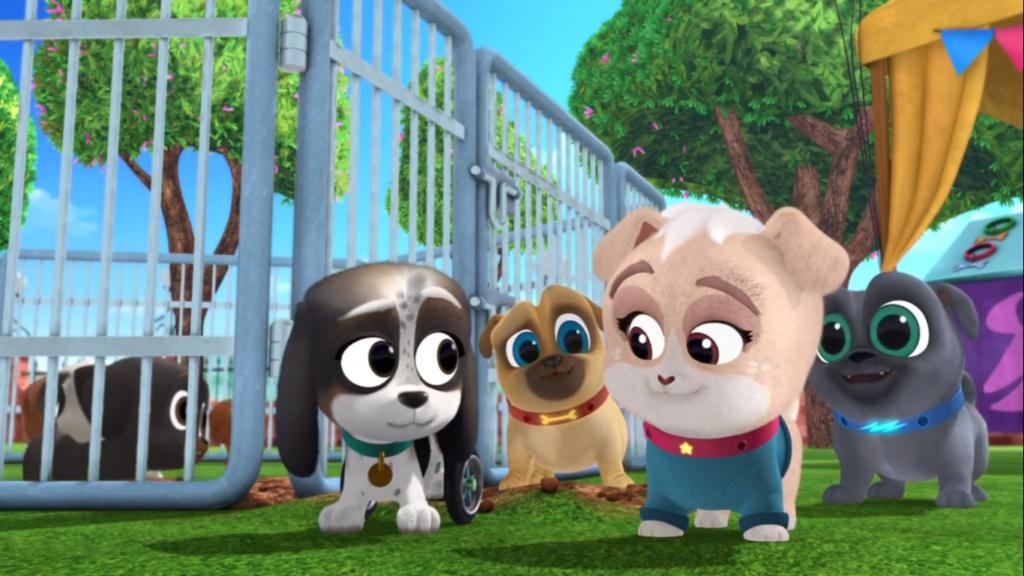 puppy dog pals estrena nuevos episodios y da la bienvenida a lollie adopt a palooza