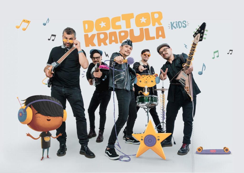 rock para ninos el monstruo arrepentido primer sencillo doctor krapula kids unnamed