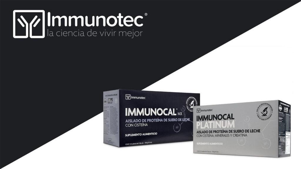 Immunocal Regular y el Immunocal Platinum