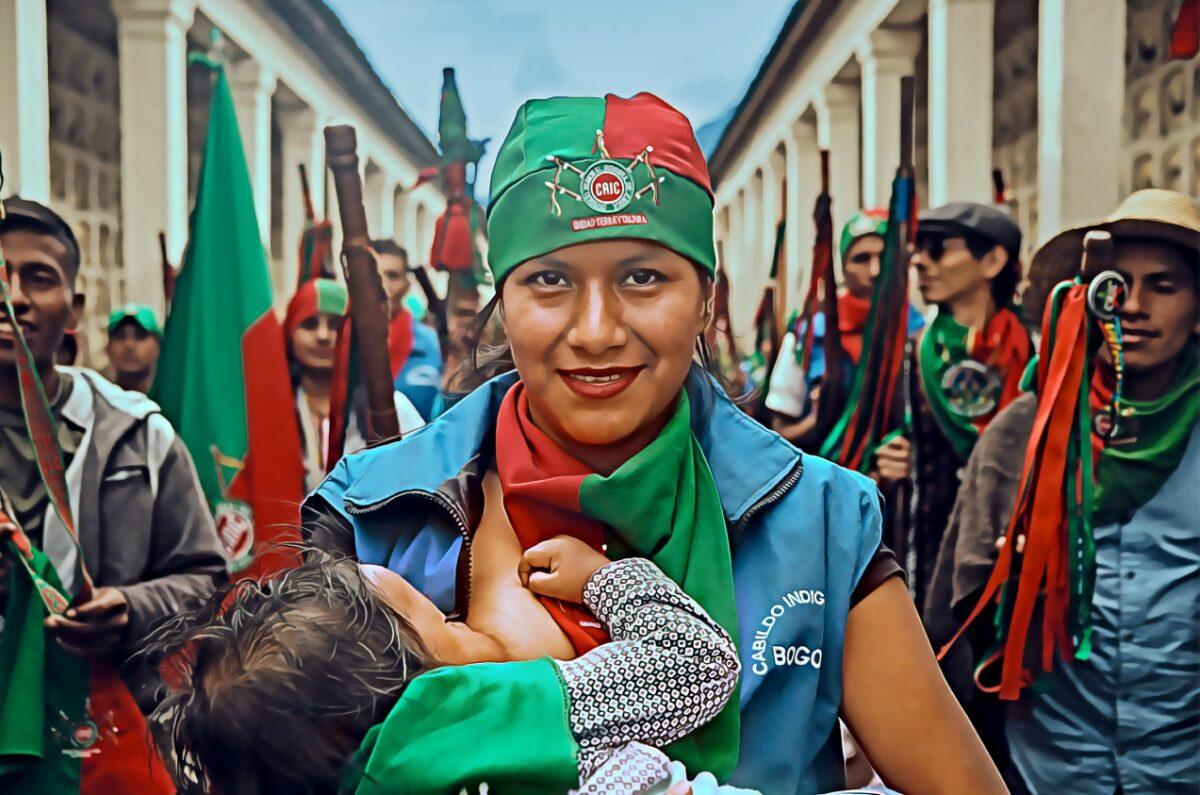 guardia fuerza el himno de la guardia indigena que rinde homenaje a los indigenas en colombia himno de la guardia indigena 1