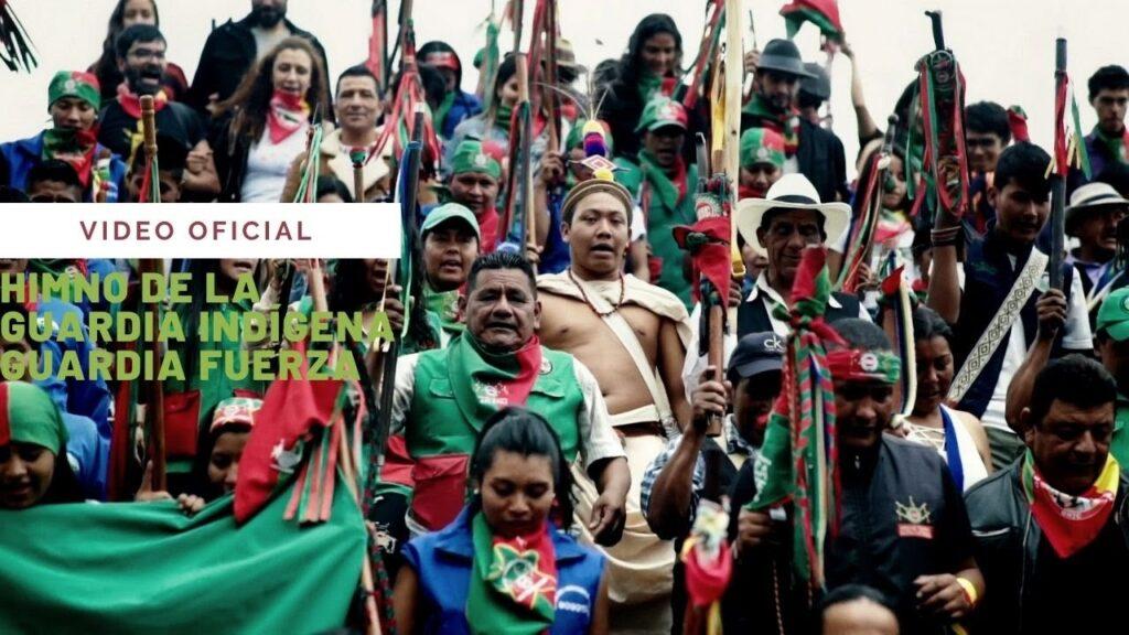 guardia fuerza el himno de la guardia indigena que rinde homenaje a los indigenas en colombia himno de la guardia indigena 3