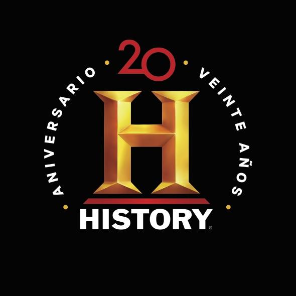 history celebra sus 20 anos con serie narrada por ricardo darin y damian alcazar logo20anosfondonegro2
