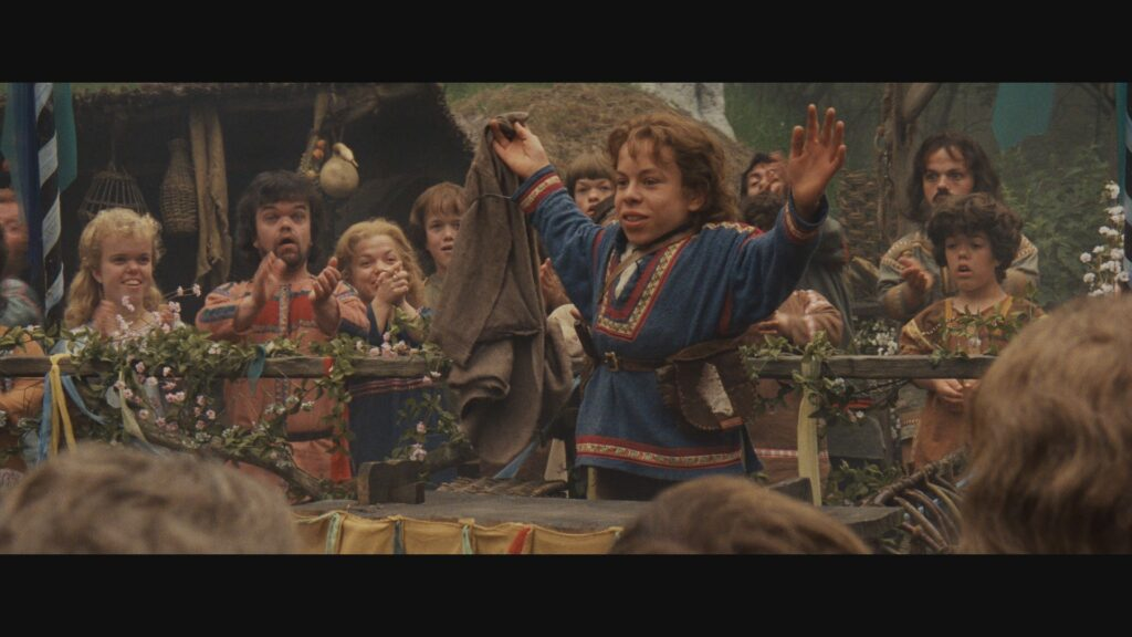 Escena de 'Willow' de Ron Howard en 1988