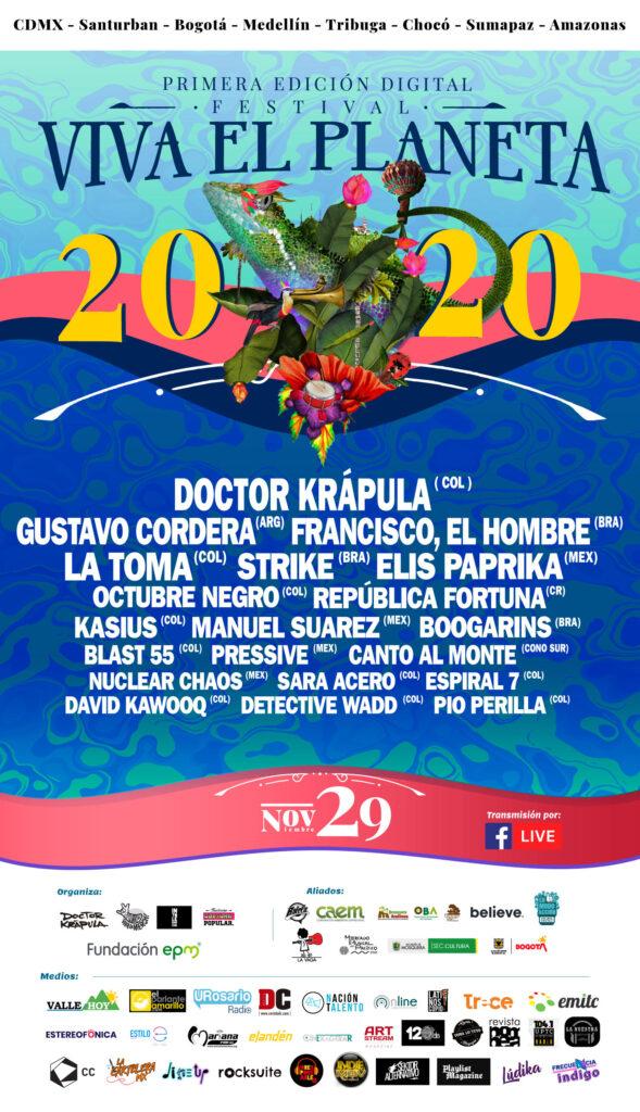 Festival Viva El Planeta 2020
