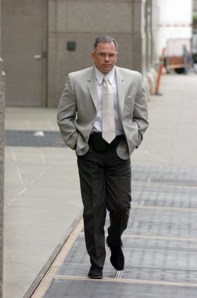 John Gotti Jr. asistiendo al juicio