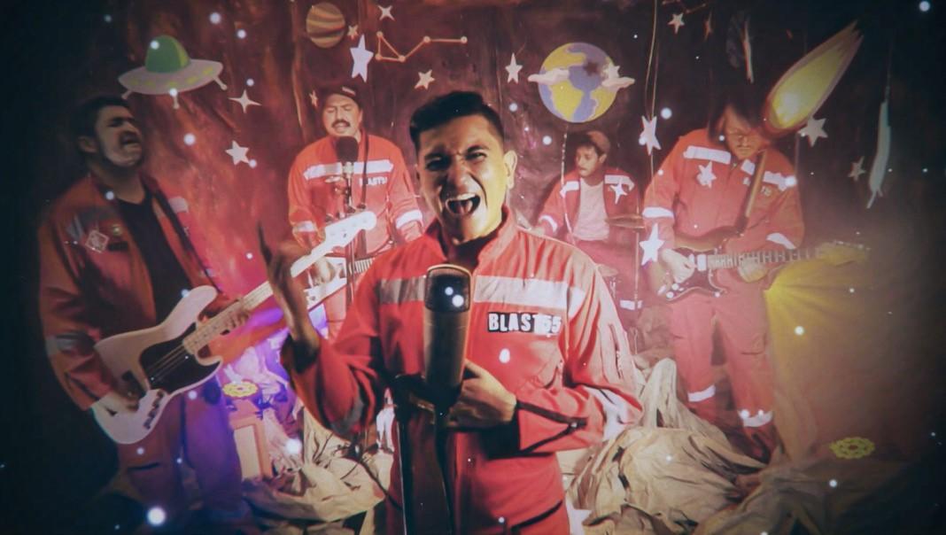 blast55 viaja al espacio para lanzar el video de su cancion a marte blast55 video a marte