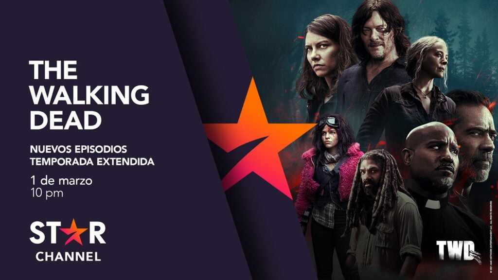 the walking dead, se estrena en star channel este 1 de marzo