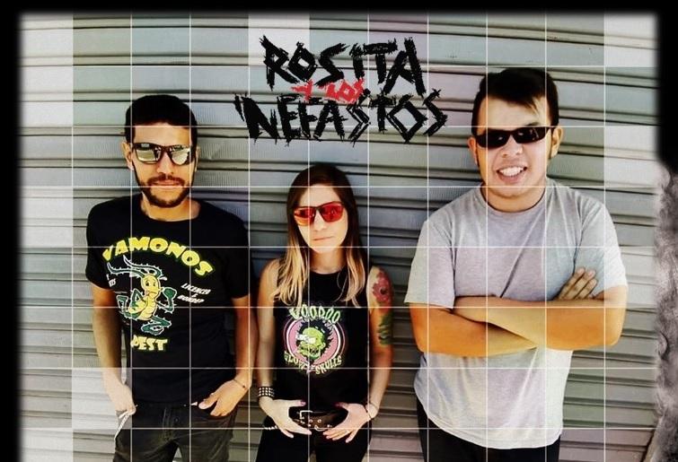 rosita y los nefastos punk rock rabioso y contestatario hecho en colombia rosita y los nefastos 1