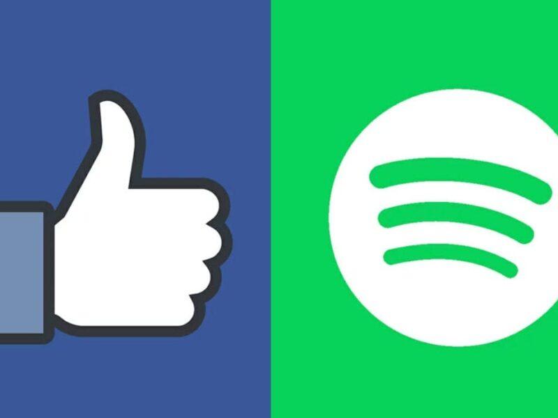 spotify sella acuerdo con facebook para que oyentes escuchen musica y los podcast facebook spotify
