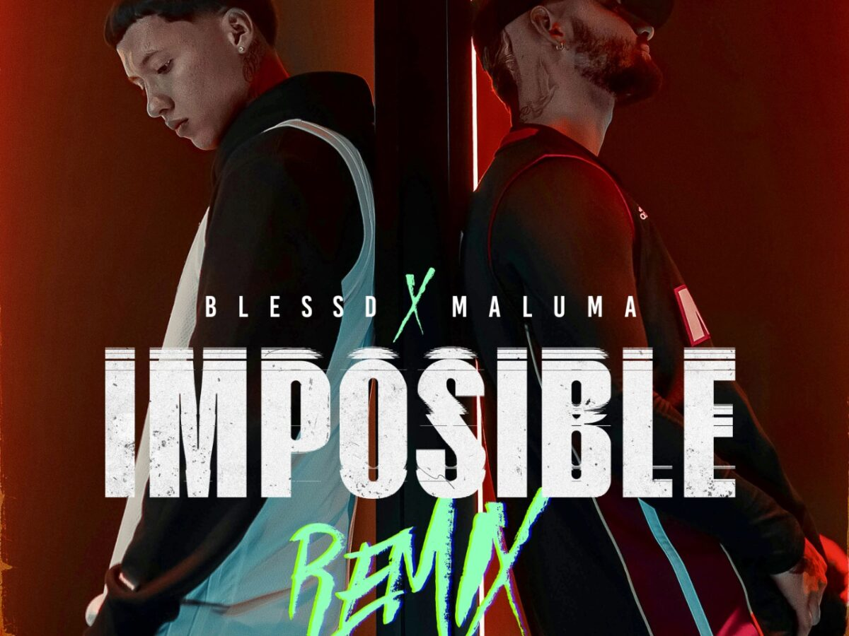 blessd maluma presentan imposible remix cover imposible remix 2021
