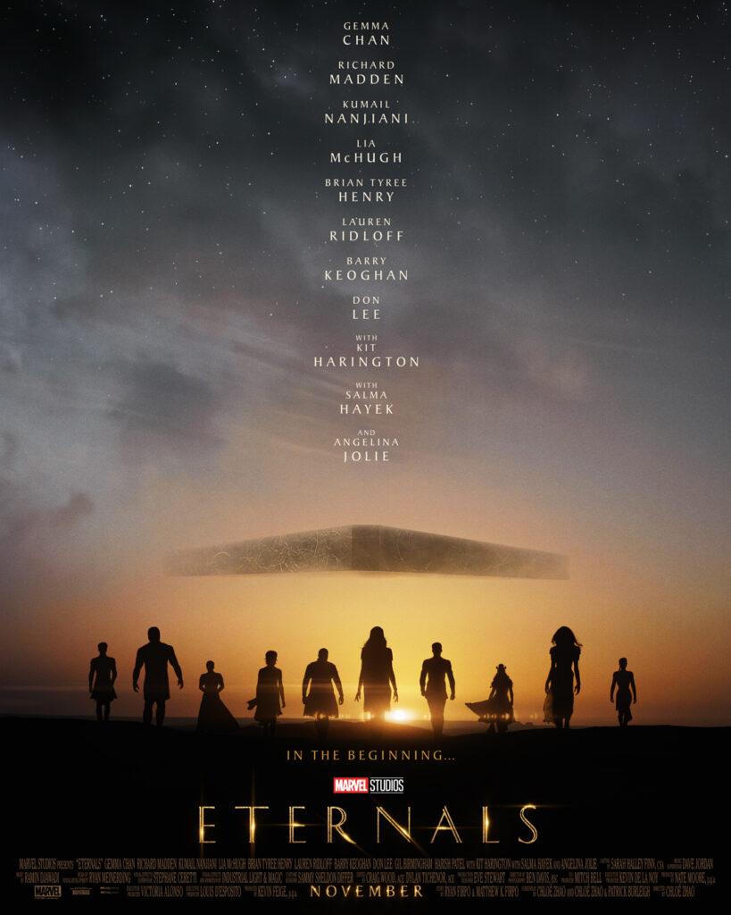 eternals el nuevo grupo de superheroes entre lo cosmico y lo mitologico eternals poster