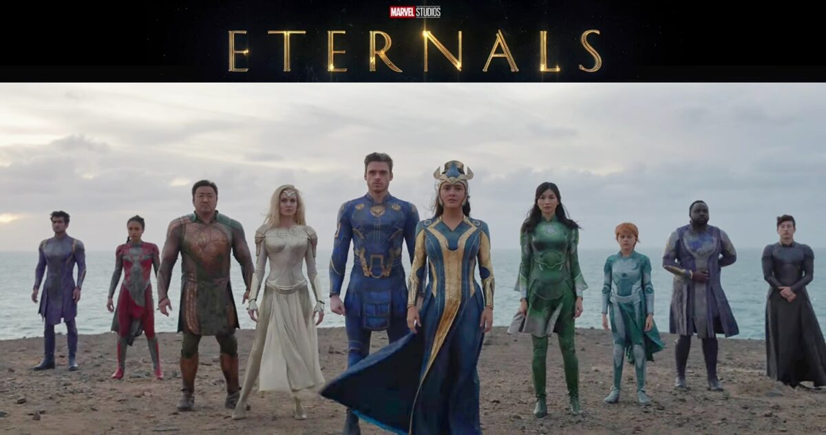 eternals el nuevo grupo de superheroes entre lo cosmico y lo mitologico the eternals trailer marvel 2021