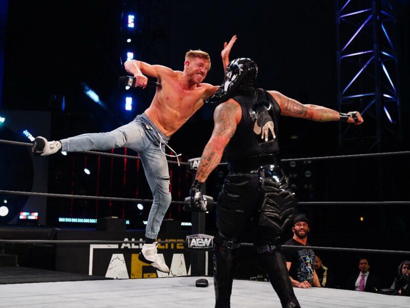 tarde de campeones en all elite wrestling por space aew2