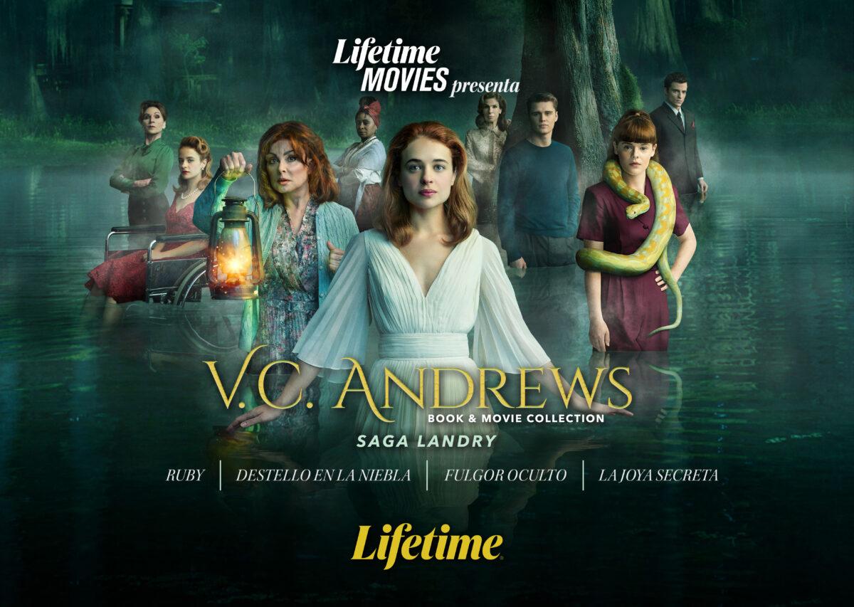 lifetime movies presenta v c andrews su exclusiva coleccion completa landry saga