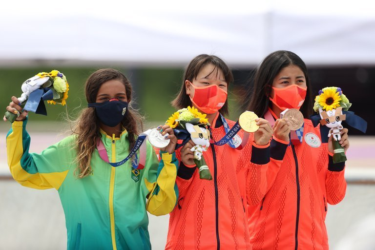 momiji nishiya es la atleta mas joven con un oro olimpico en tokio