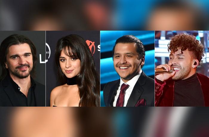 latin billboards 2021 camila cabello christian nodal juanes natti natasha y prince royce en vivo pb