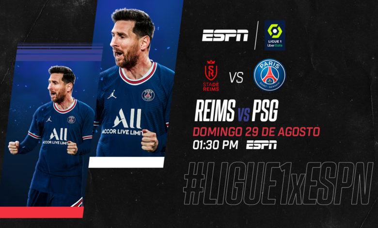 llego el dia leonel messi debuta en la ligue 1 de francia por espn ligue 1 2908 reims vs paris saint germain tv 780x470 1