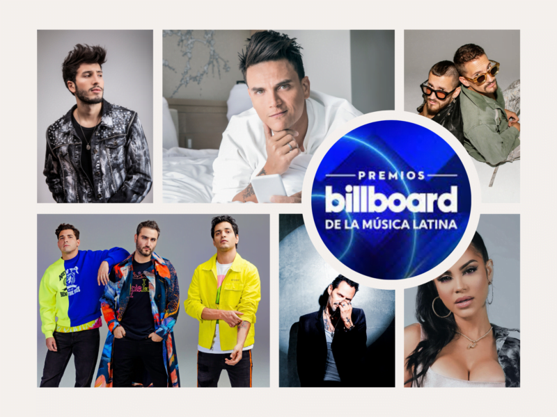 los premios billboard de la musica latina llegaran en septiembre gris marron limpio cuadricula moda moodboard foto collage