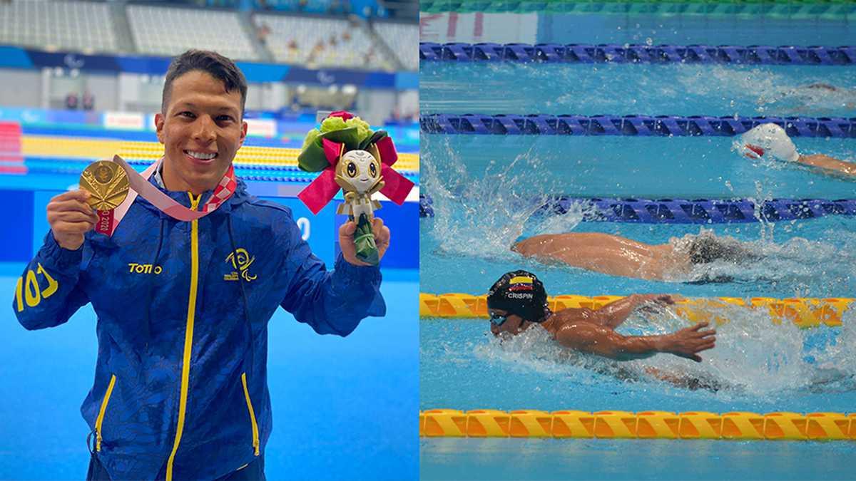 nelson crispin hace historia obtuvo el primer oro para colombiana y rompe record en los juegos paralimpicos