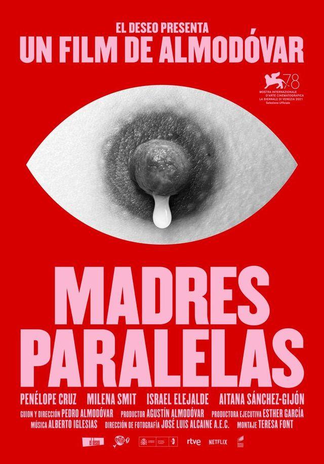 pedro almodovar vuelve en madres paralelas a contar una historia de mujeres cartel a madresparalelas javierjaen venecia 0 1628504394