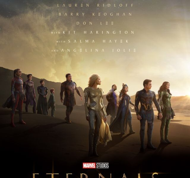 trailer epico de eternals eternals poster oficial